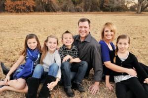 Brad Martin family pic