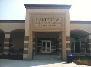 Lakeview Elem entrance