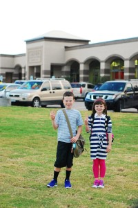 Parker and Emaline 1st day 2013